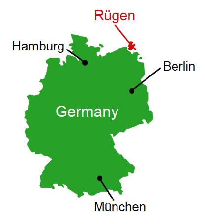 ドイツマップ