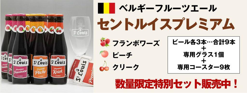 ベルギーフルーツビール特別セット