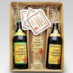 シュレンケルラ2種 500ml×2本+専用グラス+コースター3枚セット【ドイツビールギフト】